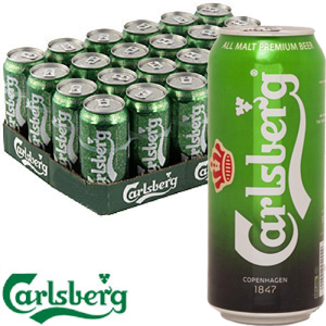 Carlsberg 500ml Case