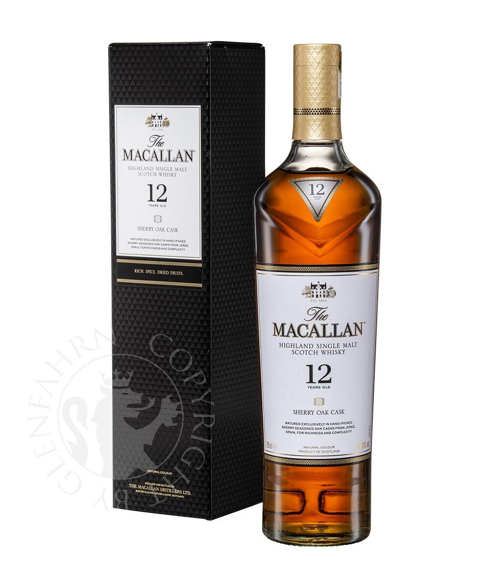 macallan 12y sherry oak